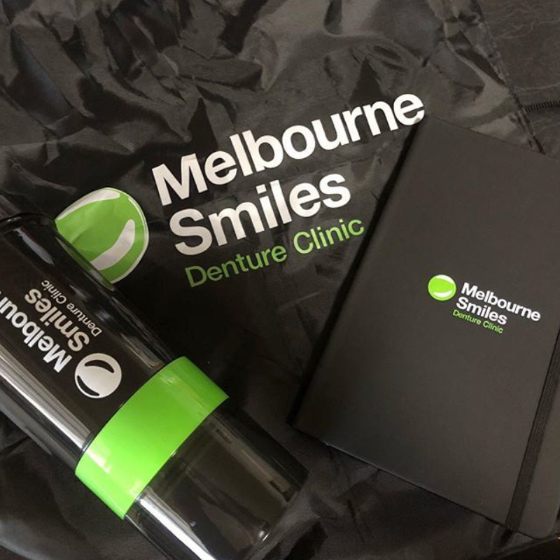 Branded items - Melbourne Smiles